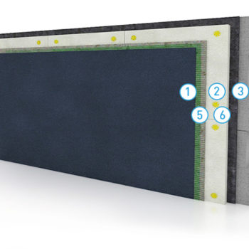 Утепление стен с защитным штукатурным слоем
